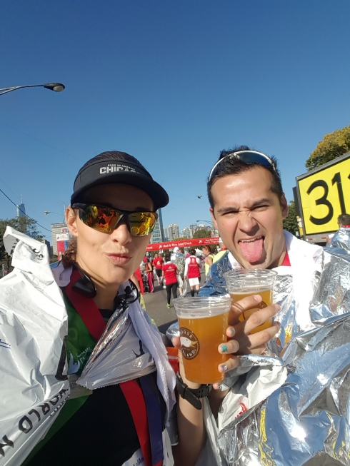 Y nos dieron cerveza :)